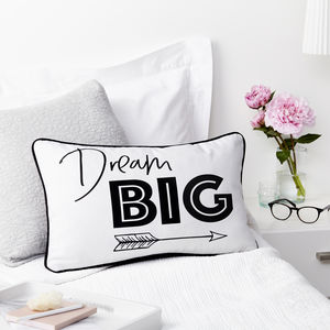 Dream Big Boudoir Cushion
