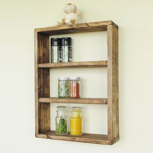 Kitchen Spice Rack - shelves