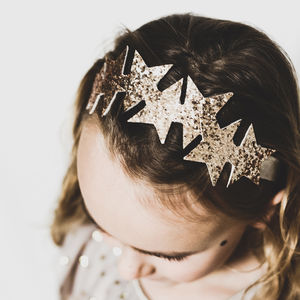 Star Glitter Headband - hair accessories