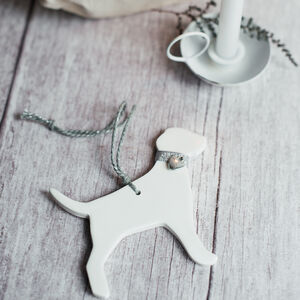 Personalised Labrador Christmas Tree Decoration