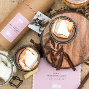 Giant Marshmallow Hot Chocolate Kit - valentine's gifts for him