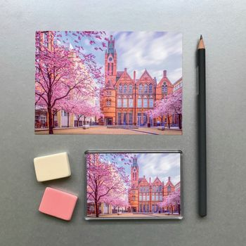 Birmingham Ikon Gallery Magnet And Postcard