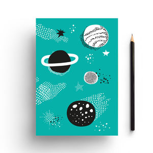 Space Notebook - notebooks & journals