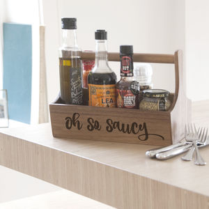 Oh So Saucy Condiment Holder - crates
