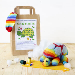 Sock Turtle Craft Kit