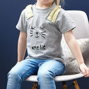 Personalised Rabbit Baby Childrens Easter T Shirt