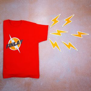 Personalised Flash T Shirt