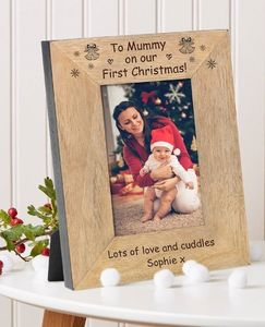 To Mummy On Our First Christmas Frame - home accessories