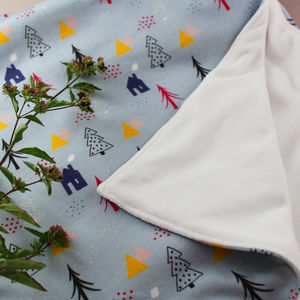 Organic Baby Blanket - baby care