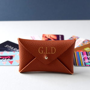 Personalised Envelope Style Card Wallet - wallets