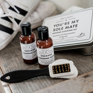 Valentine's Sneaker Cleaning Kit Be My Sole Mate - lust list for him