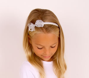 Sparkly Headband Gold Or Silver - head pieces