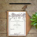 Botanical Wedding Invitations