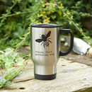 'Bee' Personalised Gardener's Mug With Coffee Seeds