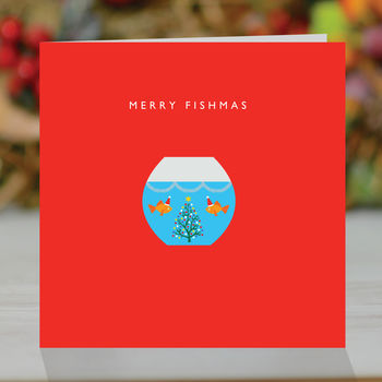 'Merry Fishmas' Christmas Card