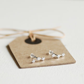 Trio Of Stars Earrings