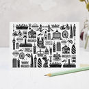 Illustrated London Greeting Card