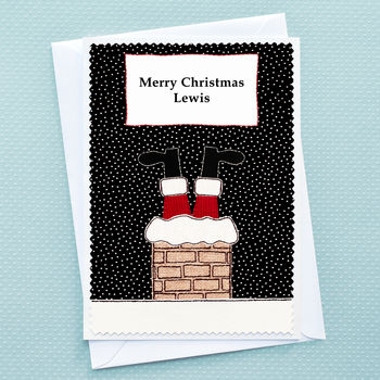Large A5 sized childrens christmas card by Jenny Arnott Cards and Gifts