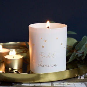 Personalised Constellation Candle - gifts for her