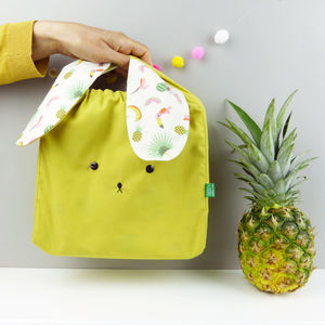 Bunny Rabbit Summer Fabric Bag