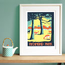 Richmond Park Screen Print