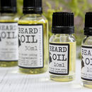 Peppermint And Tea Tree Invigorating Beard Oil
