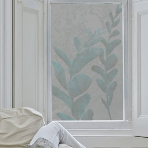 Botanical Frosted Window Film - window film