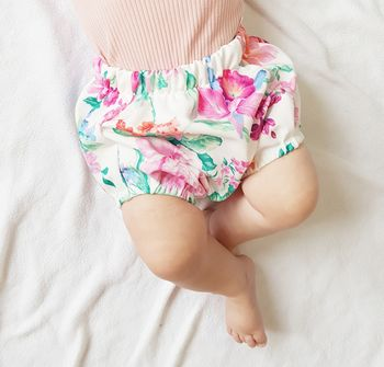 Floral Baby Girl Bloomers