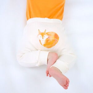 Fox Organic Baby Leggings