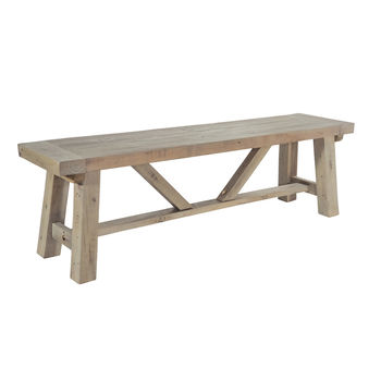 Drift Long Dining Bench