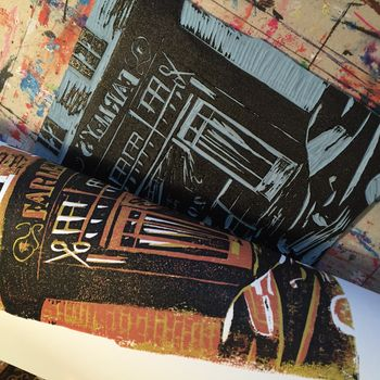 Bespoke Linoprint And Letterpress Shop Portrait