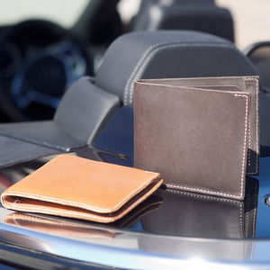Men's Rugged Thick Leather Wallet