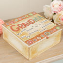 Grandma Keepsake Storage Box