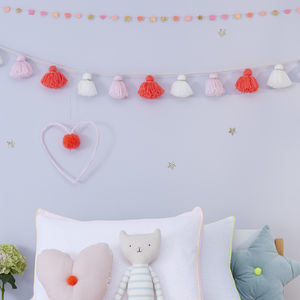 Wool Tassel Garland - decorative accessories