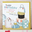 Female Birthday Greetings Card