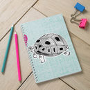 Tortoises In Love Spiral Bound Notebook