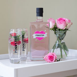 'Let The Love Be Gin' Special Edition Pink Gin - gin