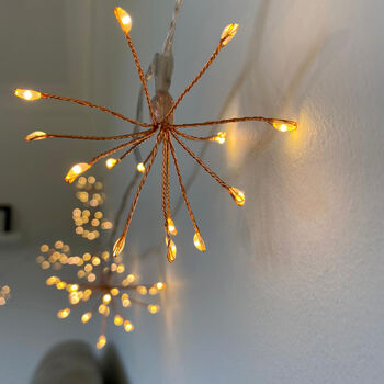 Starburst String Light Outdoor/Indoor