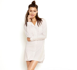 Esme Cotton Nightshirt - lingerie & nightwear