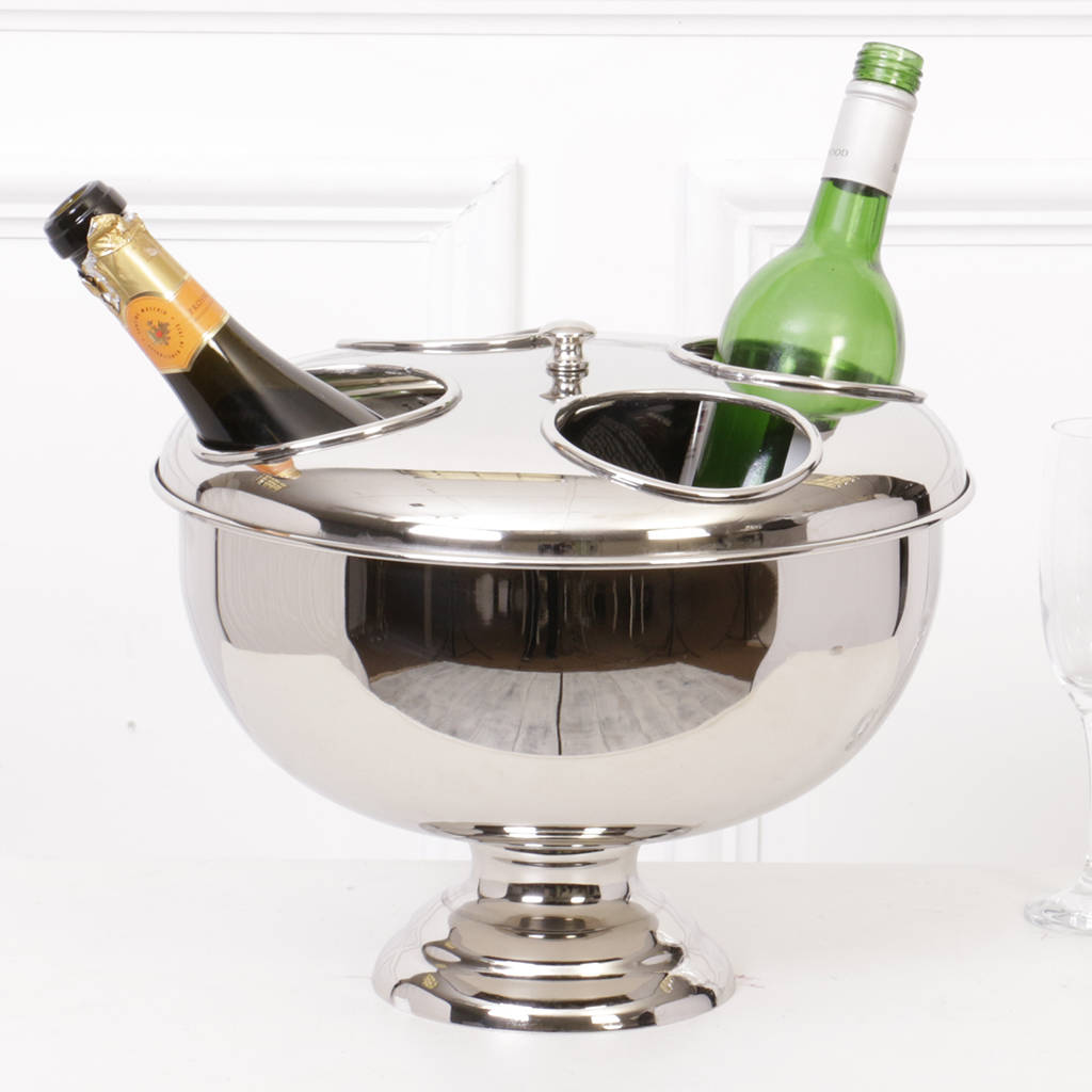 Luxury Four Bottle Wine Cooler