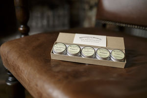 Mini Beard Balm Multipack Gift Set - men's grooming & toiletries