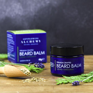 Cedar And Marjoram Beard Taming Balm 40g - men's grooming