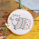 Guinea Pig Contemporary Embroidery Kit