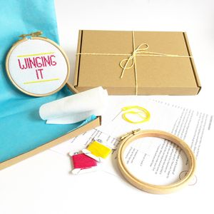 Winging It Cross Stitch Kit