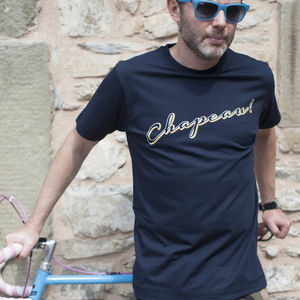 Chapeau Cycling T Shirt - men's fashion