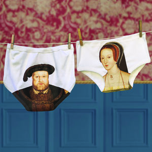 Funny Gift Tudor Love Pants For Couples - lingerie & nightwear