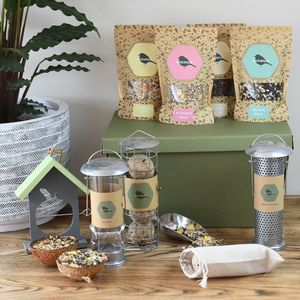 Ultimate Bird Lover Seed Hamper - food, feeding & treats