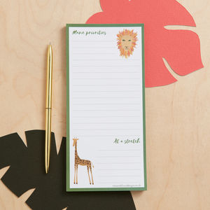 Mane Priorities Magnetic List Pad