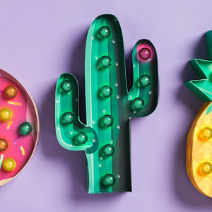 Cactus Shape Marquee Light - new in home