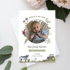 Baby Shower Farm Invite